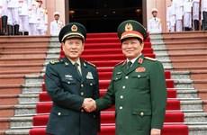 Vietnam-Chine : entretien entre les ministres de la Défense