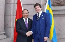 Le PM Nguyên Xuân Phuc rencontre le chef du Parlement suédois Andreas Norlen