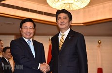 Le vice-PM Pham Binh Minh rencontre des dirigeants japonais et laotien à Tokyo