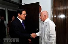 Une délégation du PCV en visite de travail à Cuba