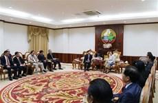 Pour approfondir les relations spéciales Vietnam-Laos