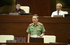Le ministre de la Sécurité publique Tô Lâm monte au créneau