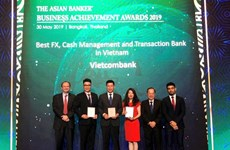 Vietcombank reçoit trois récompenses importantes de The Asian Banker
