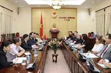 Le Vietnam et la République tchèque forgent leur coopération dans le domaine du travail