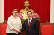 Promotion des relations Vietnam - Australie