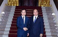 Le Premier ministre Nguyên Xuân Phuc incite Samsung Vietnam à étendre ses activités