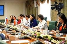 Renforcement de la coopération parlementaire avec la Russie