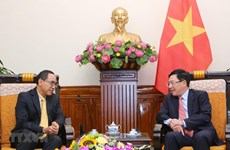 Le vice-PM Pham Binh Minh reçoit l'ambassadeur de Thaïlande