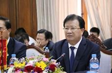 Vietnam et Laos continuent de promouvoir une coopération multiforme