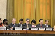 Le Vietnam préside la première session plénière de la Conférence du désarmement