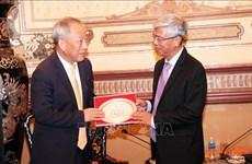 HCM-Ville coopère avec un groupe chinois dans les infrastructures