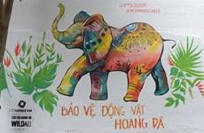 """""""Voyage d'art sauvage"""" pour la protection des animaux"""