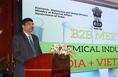 Industrie chimique: 22 entreprises indiennes explorent le Vietnam