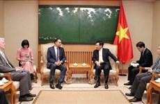 Le Vietnam chérit ses relations avec la BAD, dit le vice-PM Pham Binh Minh