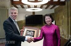 Des activités de la vice-présidente Dang Thi Ngoc Thinh en Suisse