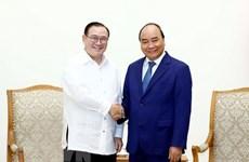 Le PM vietnamien reçoit le ministre philippin des Affaires étrangères