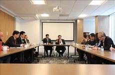 Une délégation de l'Académie nationale de politique Hô Chi Minh en tournée aux États-Unis