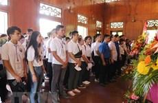 Camp d'été 2019 : poursuite des activités des jeunes Viet Kieu à Nghe An