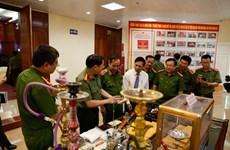 La police de Nam Dinh démantèle 13.000 affaires de trafic de drogue en dix ans