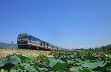 La ligne ferroviaire à grande vitesse Nord-Sud sur les rails