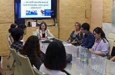 De nouvelles opportunités pour les étudiants vietnamiens désireux d'étudier au Canada