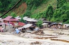 Le typhon Wipha cause d'importants dégâts dans plusieurs localités