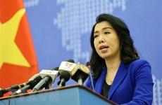 Le Vietnam proteste contre les exercices militaires chinois à Hoang Sa