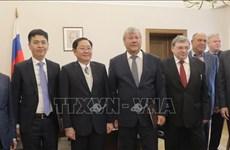 Une délégation du ministère de l'Intérieur en visite de travail en Russie