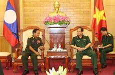 Les armées vietnamienne et lao renforcent la coopération dans la protection politique interne