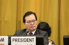 La Conférence du désarmement salue la présidence vietnamienne