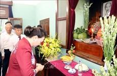 En mémoire du Président Ho Chi Minh à la Maison 67