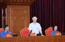 Le leader du Parti exhorte la jeunesse à suivre la moralité Hô Chi Minh