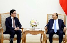 Le Premier ministre reçoit l'ambassadeur cambodgien sortant