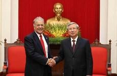 Une délégation du Parti du travail du Mexique en visite au Vietnam