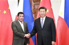 La Chine et les Philippines boostent leurs liens bilatéraux
