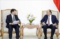 Le PM Nguyen Xuan Phuc reçoit le ministre nicaraguayen des AE