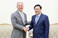Le vice-PM Vuong Dinh Hue reçoit un dirigeant de Gen X Energy