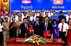 Kiên Giang renforce ses liens avec la province cambodgienne de Kep