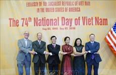 La 74e Fête nationale du Vietnam célérée aux États-Unis et au Royaume-Uni