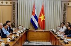 Hô Chi Minh-Ville promeut sa coopération d'investissement avec Cuba