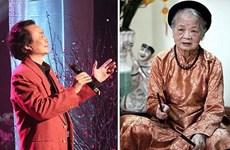 Quatre artistes de la Voix du Vietnam à l'honneur