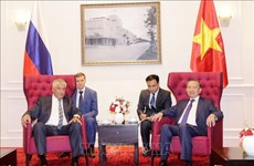 Le ministère de la Sécurité publique dynamise sa coopération avec le ministère de l'Intérieur de Rus