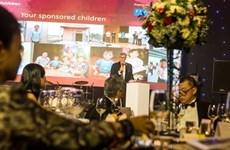 Dîner de gala au profit des enfants défavorisés à Hô Chi Minh-Ville