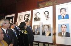 Le développement du Front de la Patrie au travers d'une exposition de photos à Hanoï