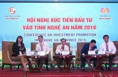 La province de Nghê An appelle à l'investissement dans 117 projets