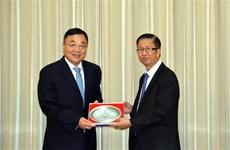 Ho Chi Minh-Ville reçoit une délégation de la province chinoise du Jiangsu