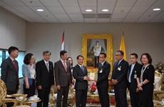 Une délégation du Front de la Patrie du Vietnam en Thaïlande