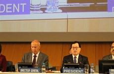 Le Vietnam assure bien la présidence l'Assemblée générale de l'OMPI