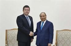 Le Premier ministre reçoit le vice-Premier ministre tchèque Jan Hamacek