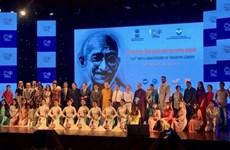 Le 150e anniversaire de Mahatma Gandhi célébré à Hanoi